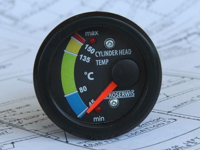 Head temperature indicator ROTAX 912 - 914