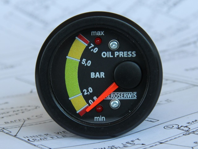 Oil pressure indicator ROTAX 912 - 914