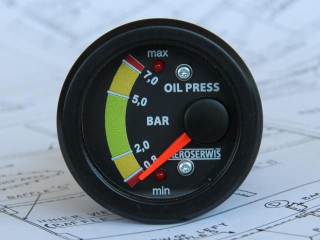 Wskaźnik ciśnienia oleju ROTAX 912 - 914